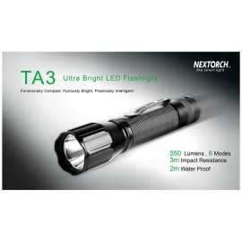 Linterna Nextorch TA3 SET