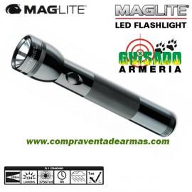 Linterna Led MagLite Standard 2D de color negro