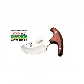 Cuchillo Desollador Dogo puño de olivo 8 cms.