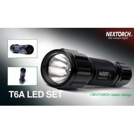 Linterna esperas Nextorch T6A Led Set