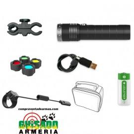 Kit de caza Led Lenser MT14