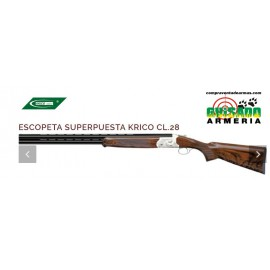 Escopeta superpuesta Krico cal. 28