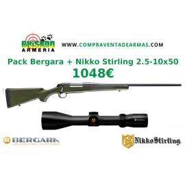 Pack Rifle Bergara B14 Hunter + Visor