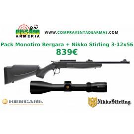 Pack Rifle monotiro Bergara BA13 + Visor