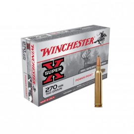 Balas Winchester 270 win Power Point - 150 grains