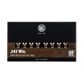 Balas RWS 243 win Speed Tip - 90 grains