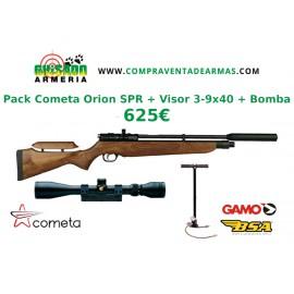 Pack Carabina PCP Cometa Lynx V10 + Visor + Bomba