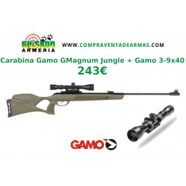 Pack Carabina Gamo GMagnum Jungle + Visor