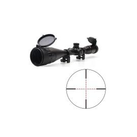 "Visor Zasdar 6-24X50 mm. AO Ret. Mildot iluminada - Tubo 1"""