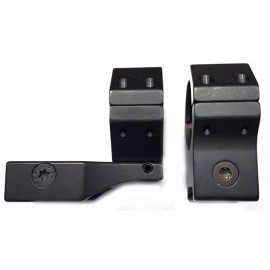 Juego de anillas APEL Blue-line para Picatinny - 30mm. BH15 con extensión