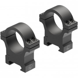 Juego de Anillas LEUPOLD Open Range Cross-Slot 30mm. [Fijas] - Altas