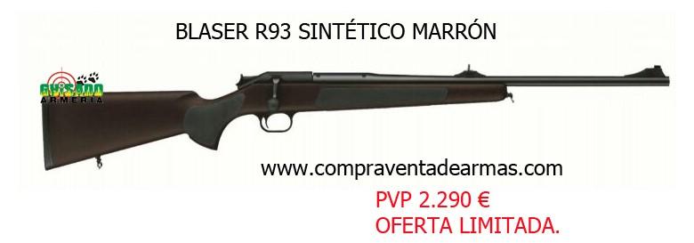 Rifle Blaser R93 Sintético cal. 300 WM.