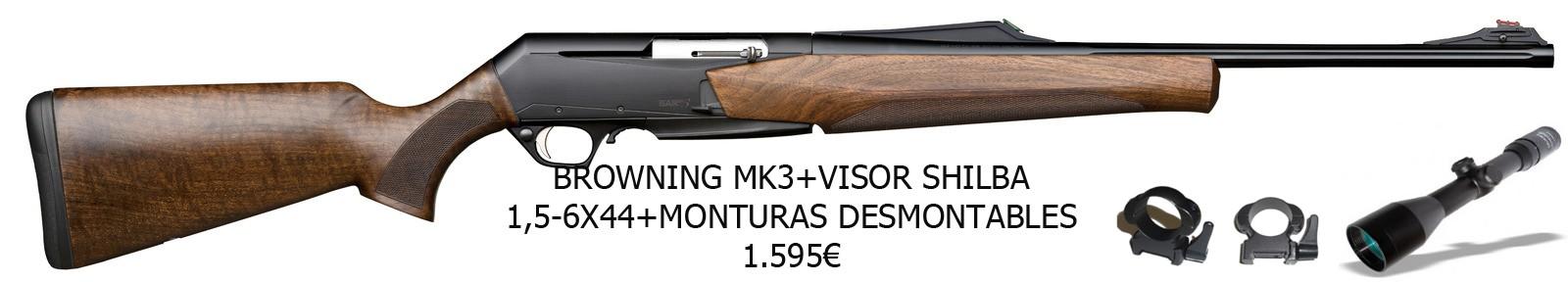 Combo Browning MK III